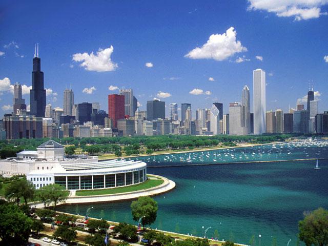 Достопримечательности Чикаго.Аквариум Джона Шедда.
