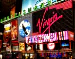 Times Square:Virgin Megastore
