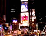 Times Square: NASDAQ board and the Renaissance Hotel