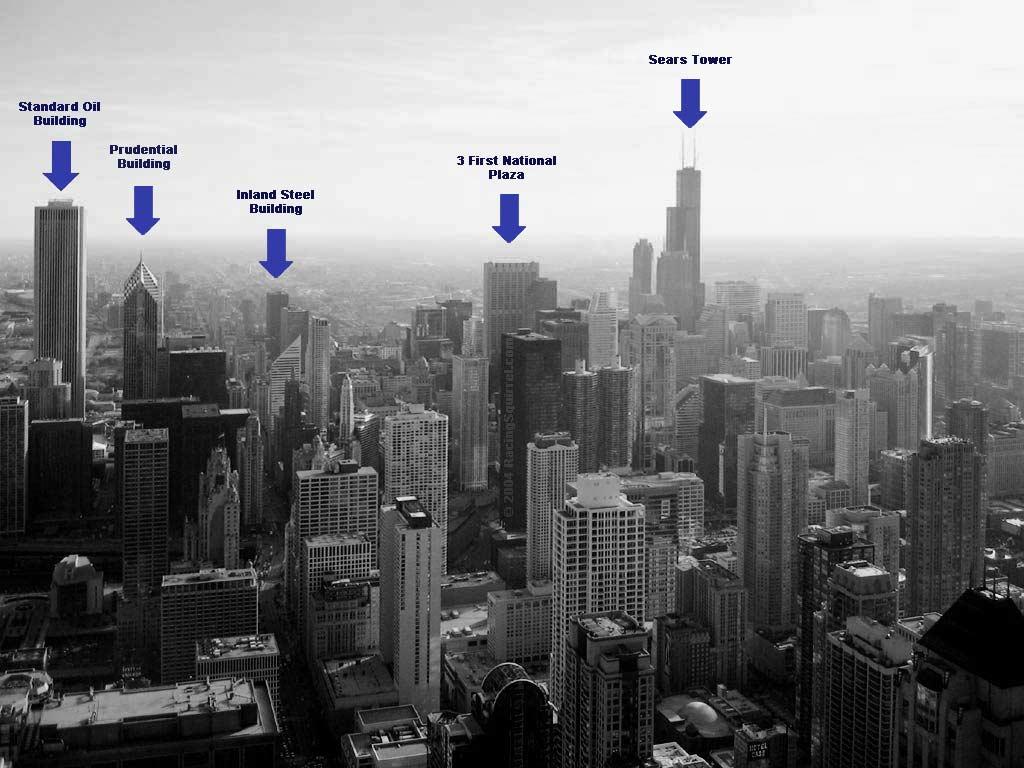 John Hancock Center Chicago Loop Skyline