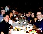 Group: Training Dinner at my old Big 4 Accounting Firm, Chicago's Restaurant Scoozi 1998