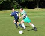 Barry Regan on the attack