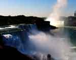 Niagara Falls: American Side overlooking Cavern of Mists