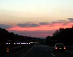 Dusk: Indiana Toll Road
