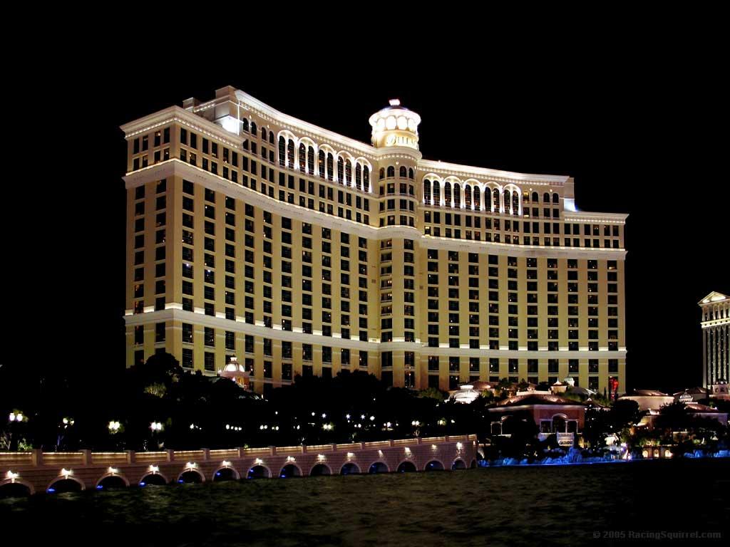 Las Vegas Hotel Bellagio By Night