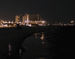 Clearwater Beach: Night Time from Pier