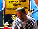 Clearwater Beach: Tricky Dogs Show