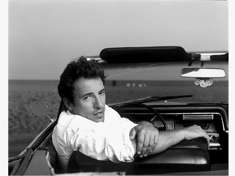 Bruce Springsteen: Tunnel of Love Annie Liebovitz Promo Shot